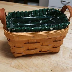 Small Lined Basket byLongaberger